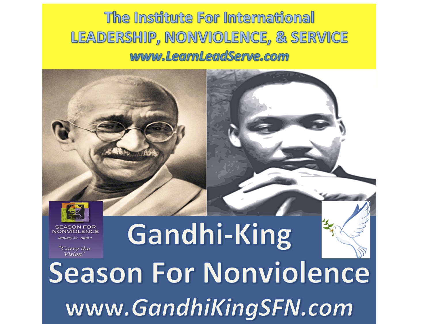 Gandhi-King Season For Nonviolence